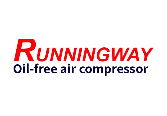 Oilless air compressor Oil-free air compressor Runningway